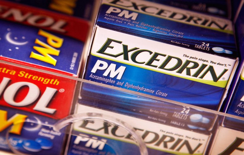 Excedrin Child Safety Recall
