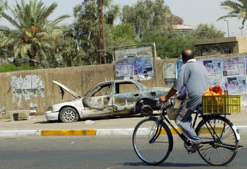 Blackwater Baghdad remains
