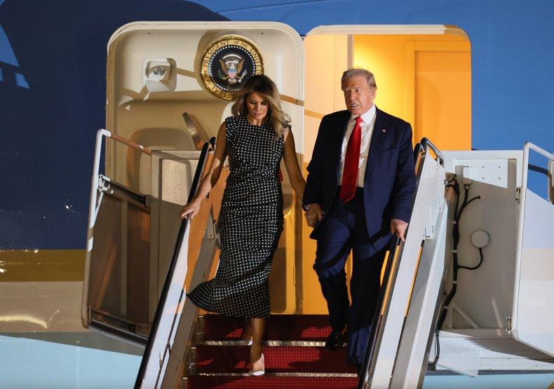 Trump and Melania Arrive in Palm BeachU.S.