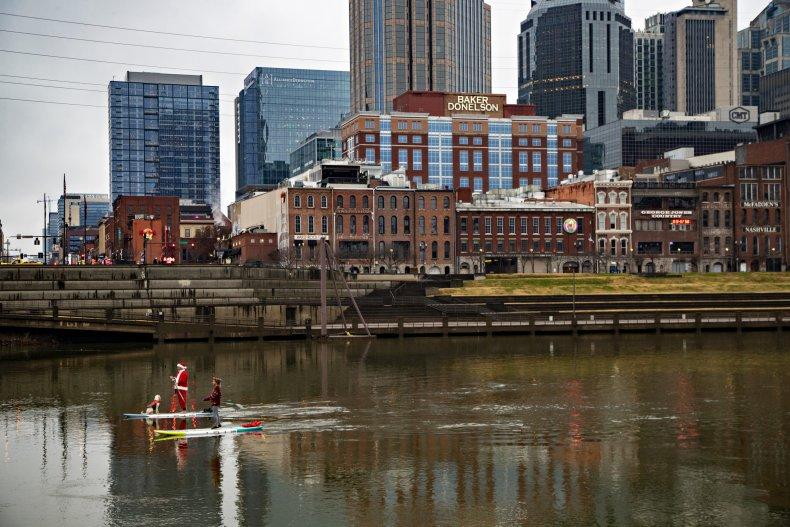 Nashville Blast Injures 3, Shatters Buildings
