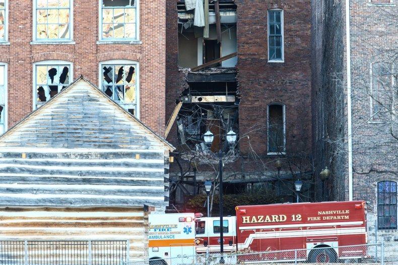 Nashville Explosion Human Remains