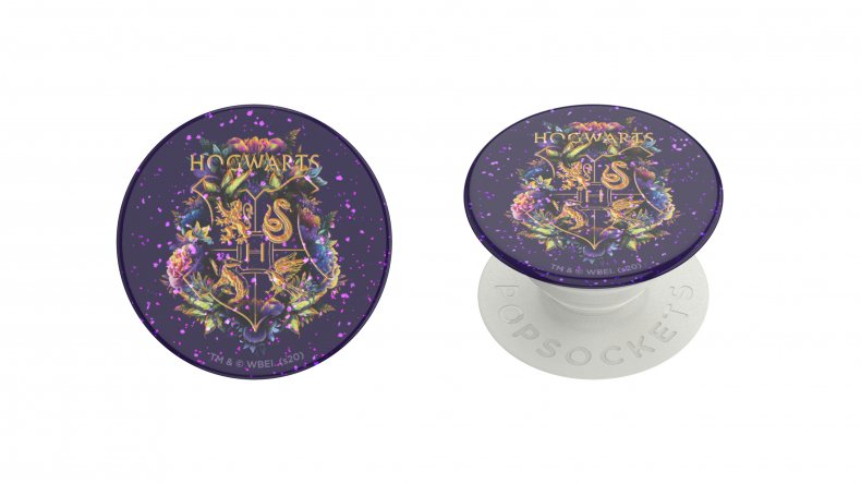 Glitter Hogwarts Floral PopGrip PopSockets