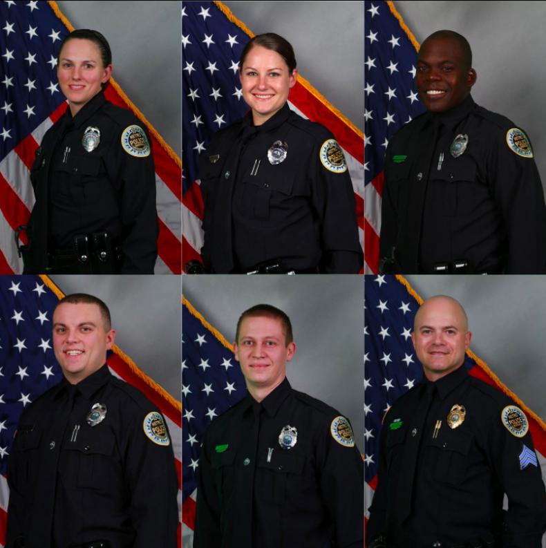 Nashville police officers