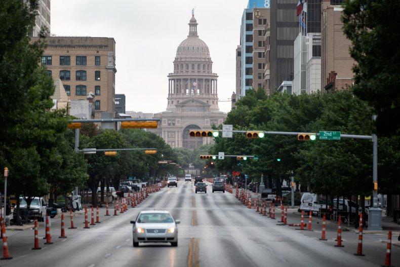 Texas Capitol Building, COVID-19