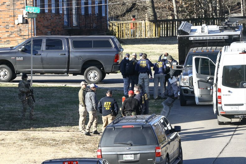 Nashville bombing investigation at suspect's house