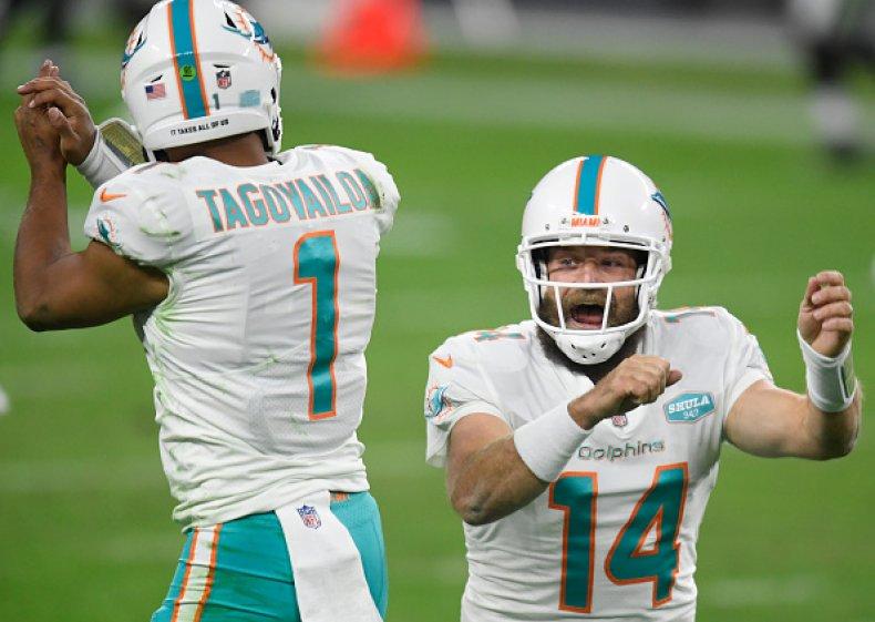 Miami Dolphins quarterbacks