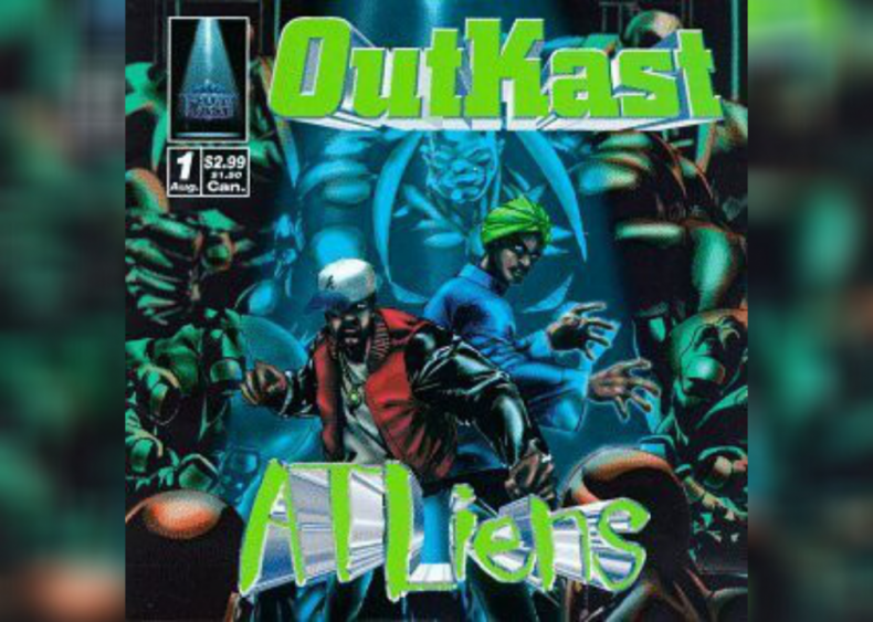 #91. 'ATLiens' by OutKast