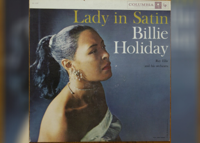 #87. 'Lady In Satin' by Billie Holiday