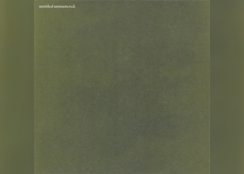 #85. 'Untitled Unmastered.' by Kendrick Lamar