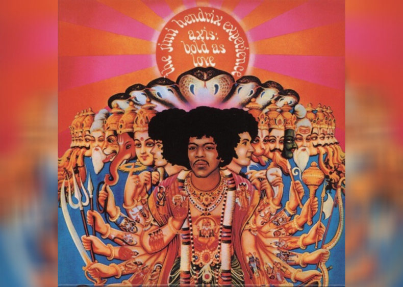 #27. 'Axis: Bold As Love' by The Jimi Hendrix Experience
