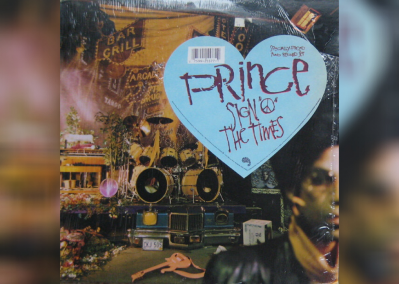 #25. 'Sign 'O' the Times' by Prince