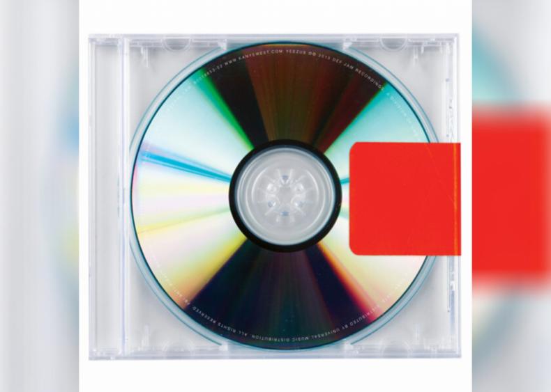 #23. 'Yeezus' by Kanye West