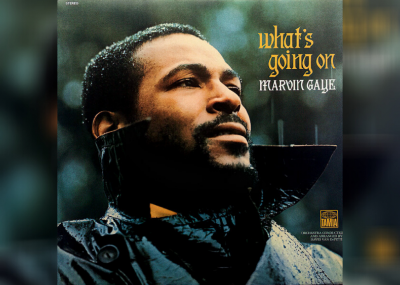 #6. 'What's Going On' by Marvin Gaye