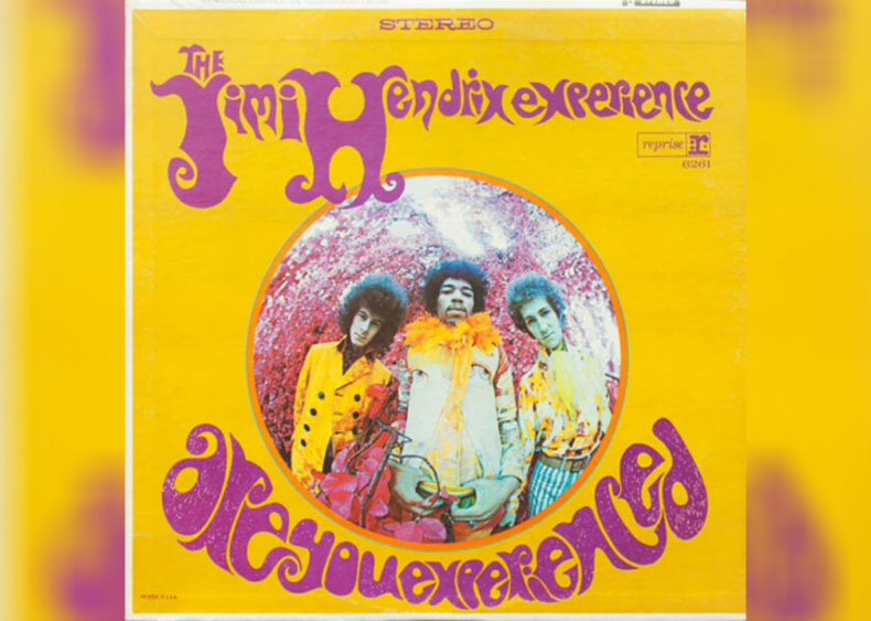 #3. 'Are You Experienced' by The Jimi Hendrix Experience
