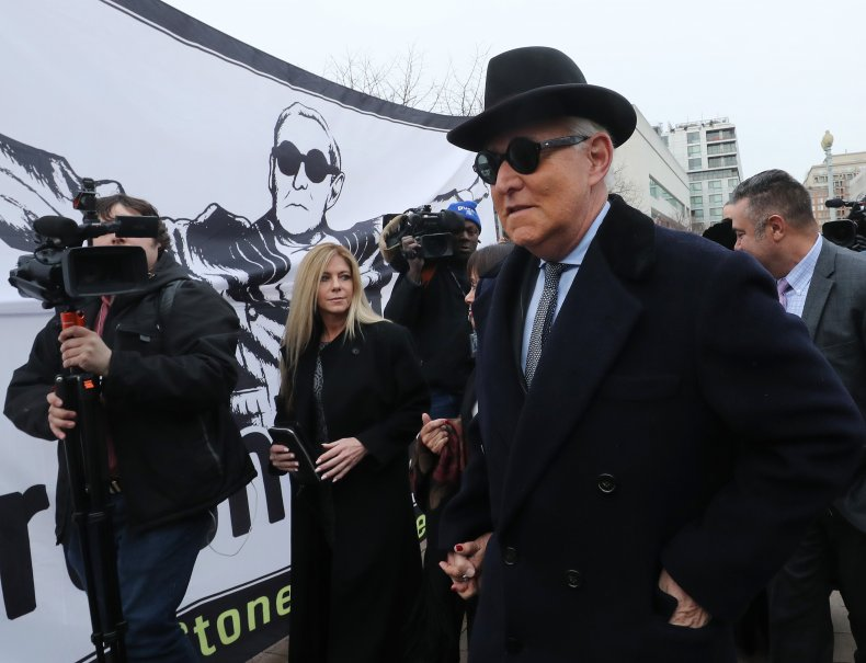 Roger Stone court appearance February 2020