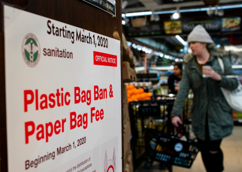 March 1: New York plastic bag ban takes effect