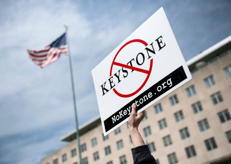 July 6: The Supreme Court halts construction on the Keystone XL pipeline