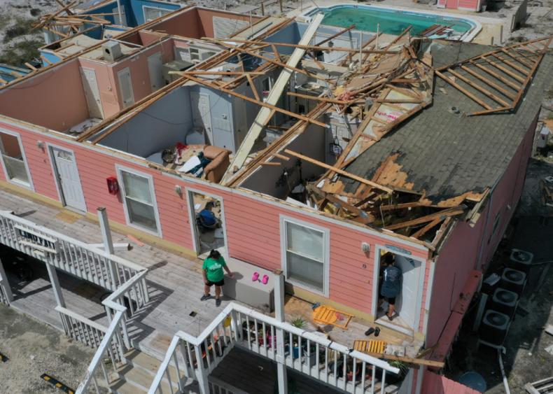 September 16: Hurricane Sally makes landfall