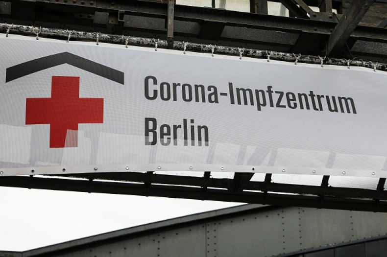 Germany Launches Covid-19 Vaccinations Nationwide BERLIN, GERMANY