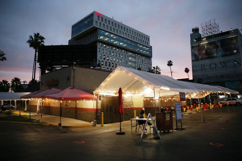 COVID-19, Los Angeles, California