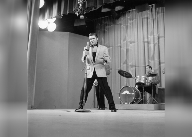 The world meets the top half of Elvis