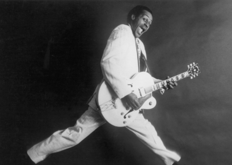 Chuck Berry releases Johnny B. Goode