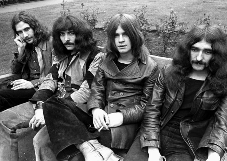 Black Sabbath darkens the mood