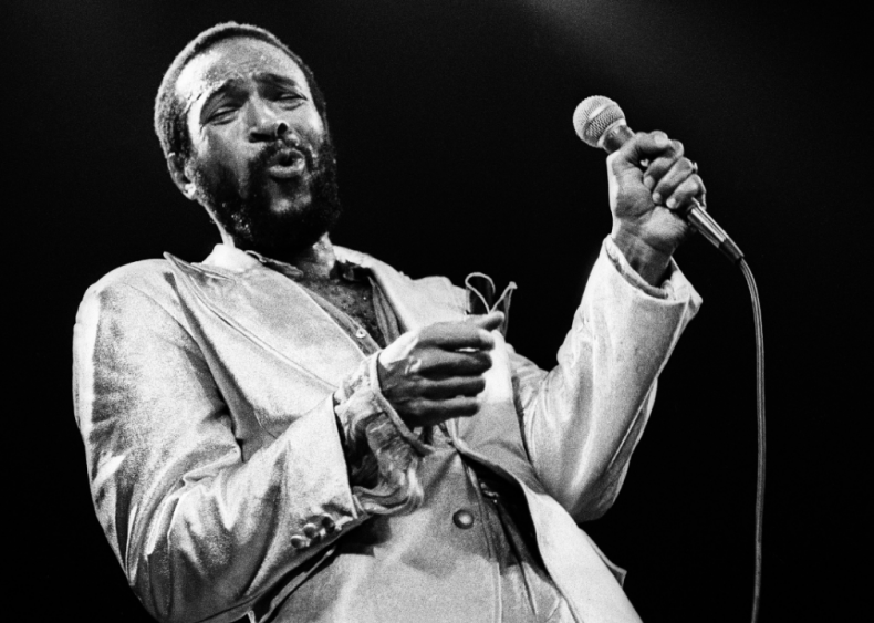 Marvin Gaye makes a statement