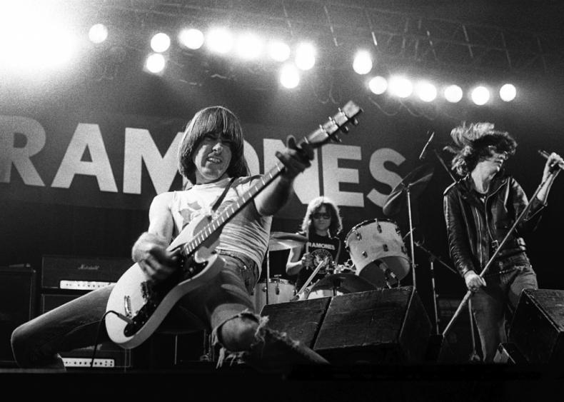The Ramones play CBGB