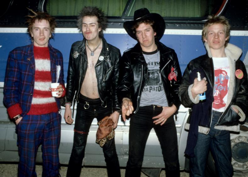 Punk rock ruffles royal feathers