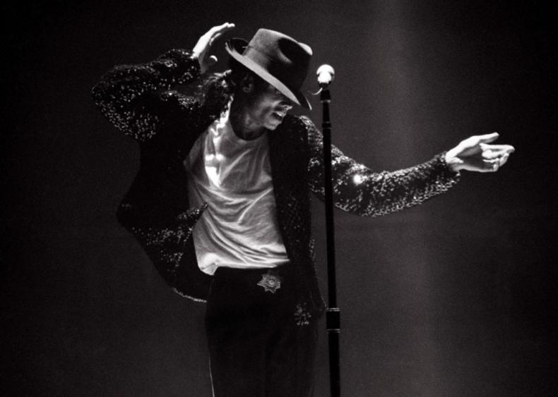 Michael Jackson brings the moon to earth