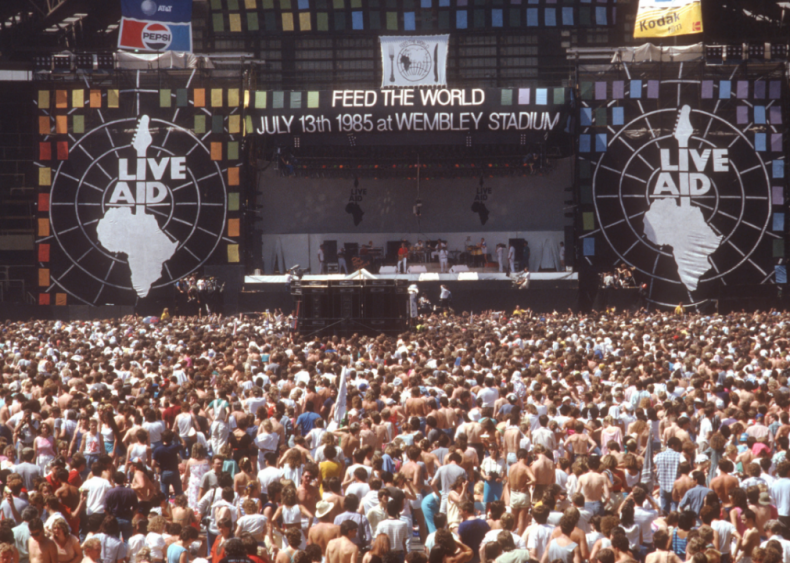Live-Aid is the ultimate concert