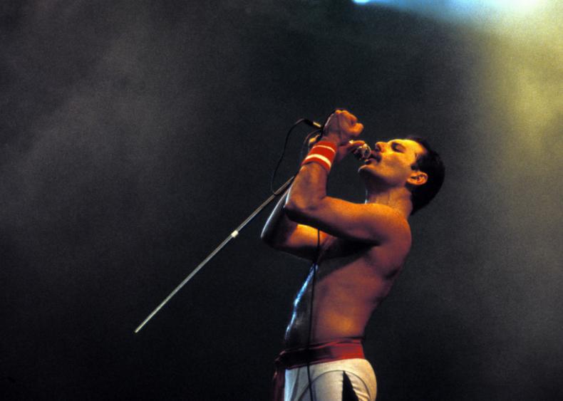 Freddie Mercury dies