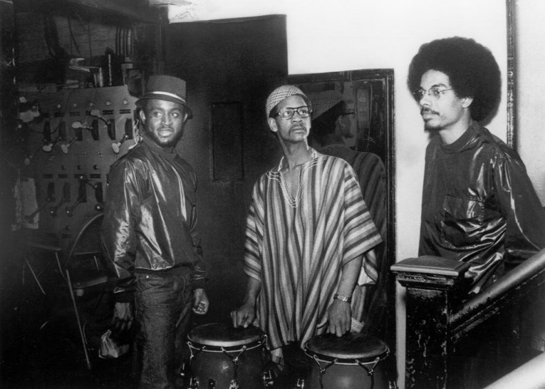 The Last Poets, but the first hip-hop group?
