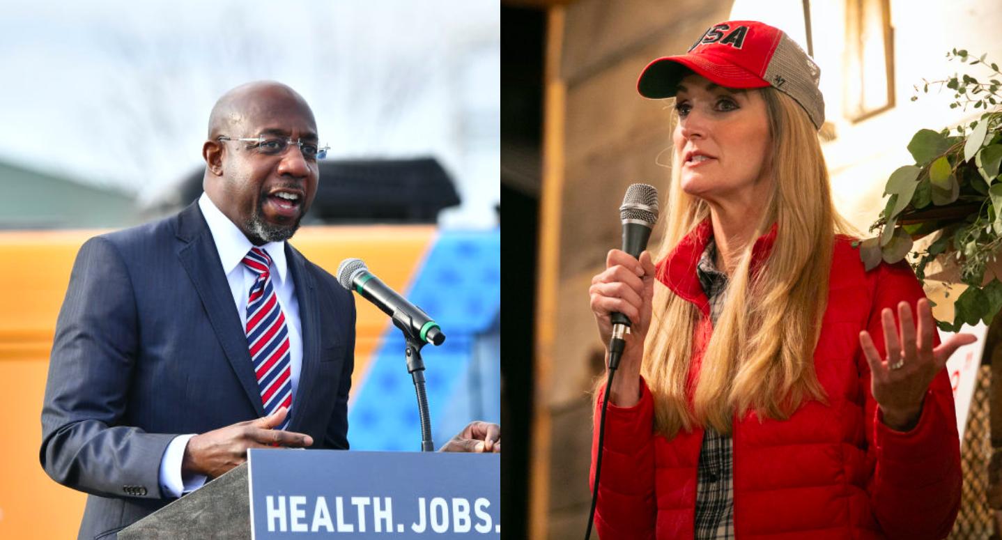 What Polls Say About Kelly Loeffler, Raphael Warnock a Week Before Georgia Senate Election
