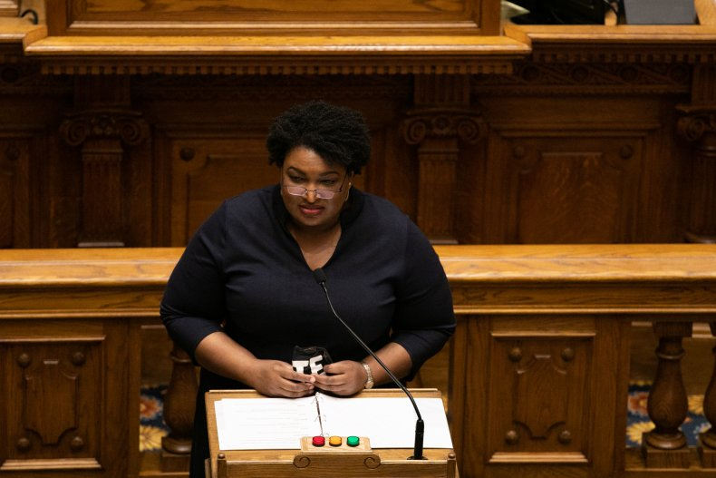Stacey Abrams is related to sister's ruling