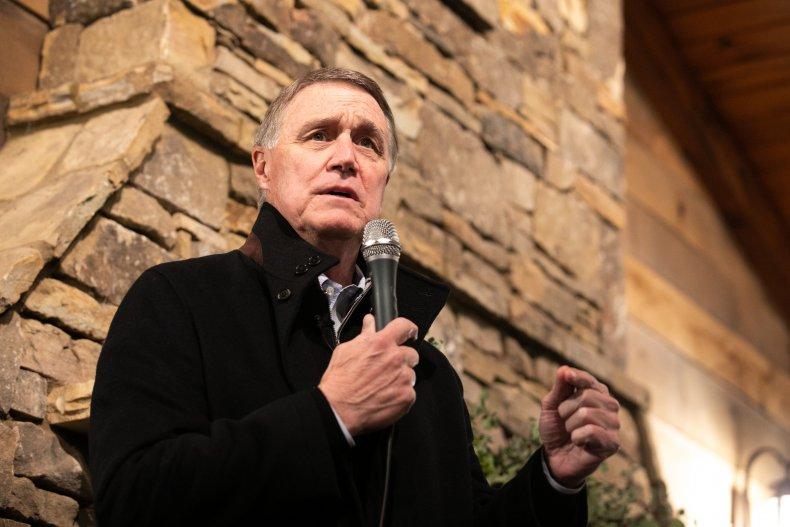 Georgia Republican Senate candidate David Perdue