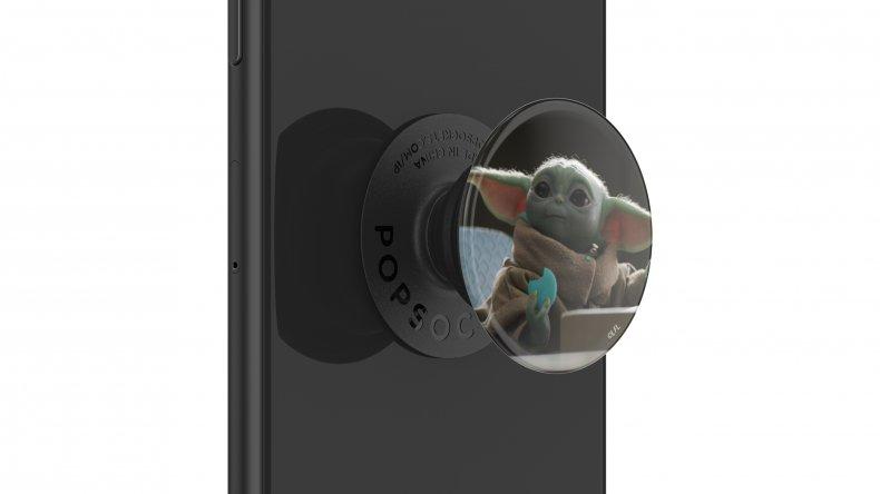 Baby Yoda The Child Mandalorian PopGrip PopSockets