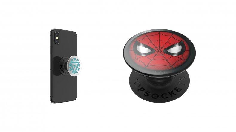 Iron Man Spider-Man Marvel PopGrips PopSockets