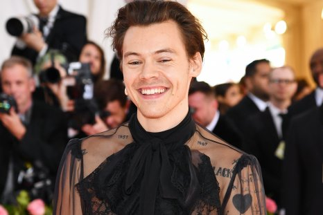 Harry Styles on the red/pink carpet