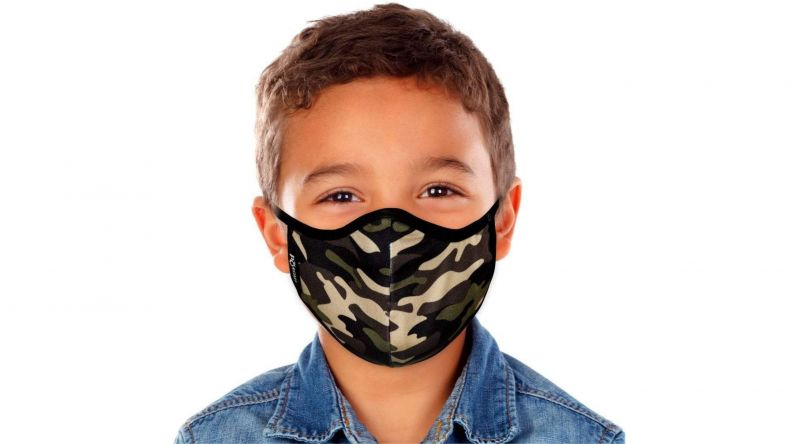 Camouflage Face Mask masQd Kids