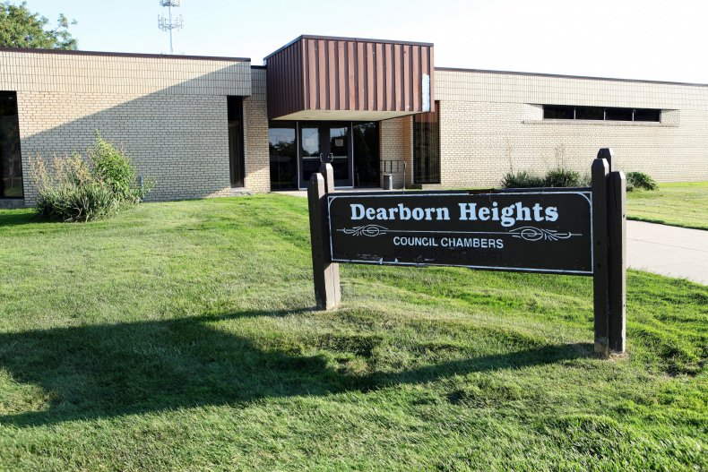 Dearborn Heights council chambers Michigan 2014