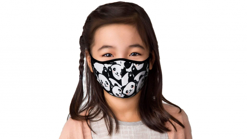Panda Face Mask masQd Kids