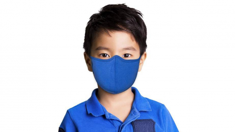 Blue Face Mask masQd Kids