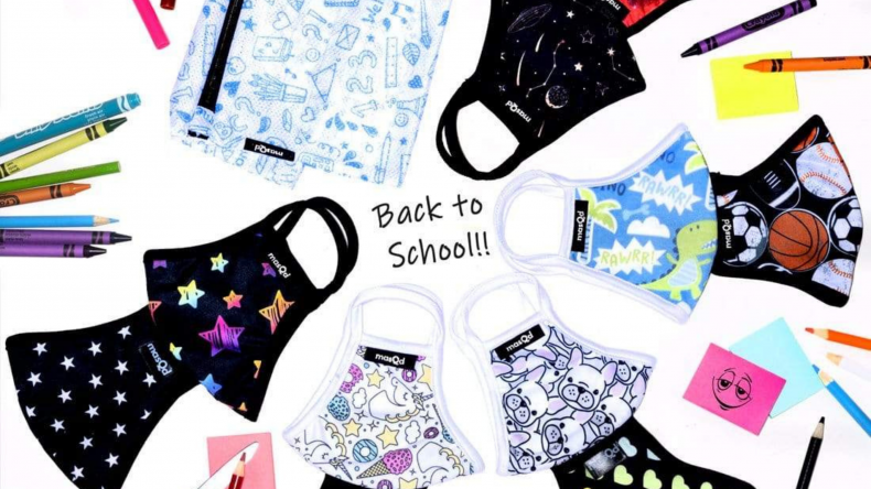 School Mask Pack masQd Kids