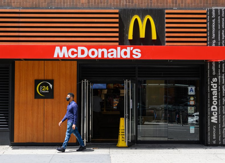 McDonald's Times Square NYC July 2020