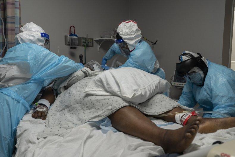 COVID-19 ICU patient
