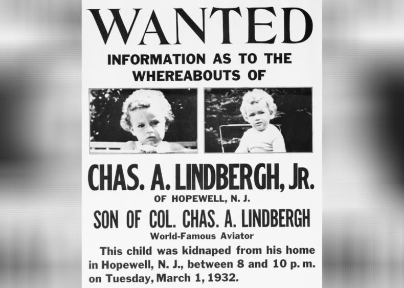 1932: Lindbergh baby kidnapping
