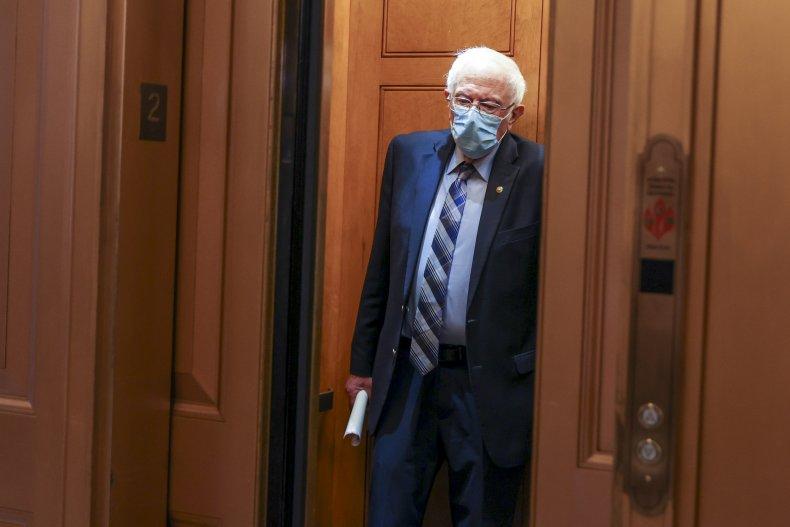 Bernie Sanders Senate session 12/30/2020