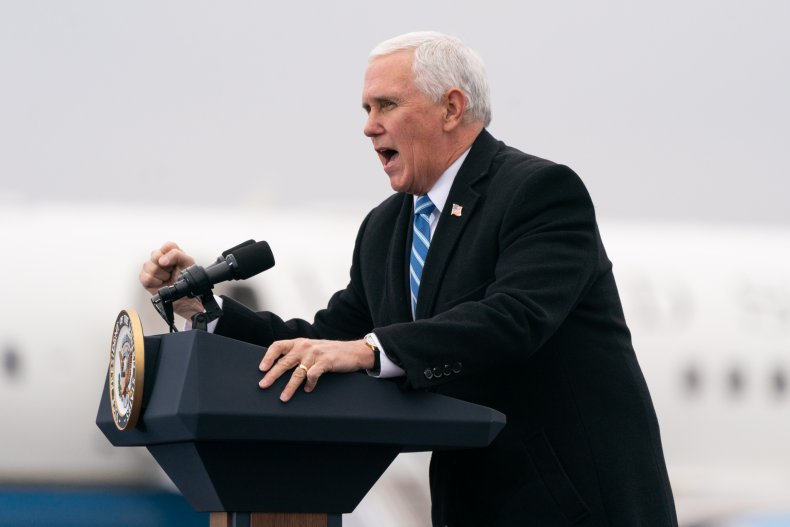 lin wood does not trust mike pence